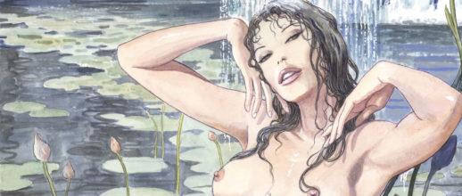 Manara in mostra a Etna Comics