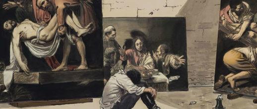 Caravaggio raccontato da Manara e Riondino