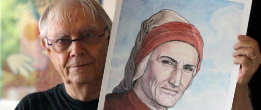 Mostra sul volto di Dante