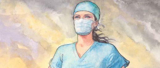 Milo Manara omaggia il personale sanitario